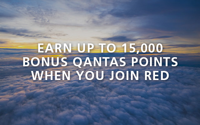 Earn up to 15,000 bonus points when you join Red